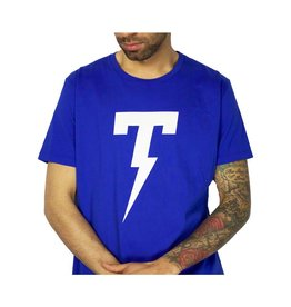 TACKMA ROYAL BLUE SIGNATURE TACKMA THUNDERBOLT TEE