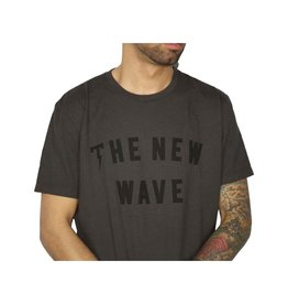 TACKMA BLACK NEW WAVE TEE