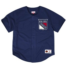 Mitchell & Ness NEW YORK RANGERS NHL MESH BUTTON FRONT