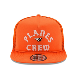 PAPER PLANES ORANGE PLANES CREW TRUCKER OLD SCHOOL SNAPBACK