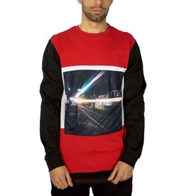 DIEM RAIL PLATFORM LONG SLEEVE TEE