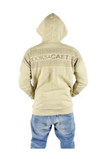 CROOKS & CASTLES NOMAD HOODED DOLMAN PULLOVER