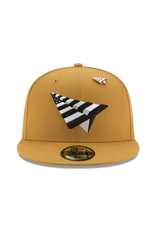 PAPER PLANES PANAMA TAN CROWN FITTED
