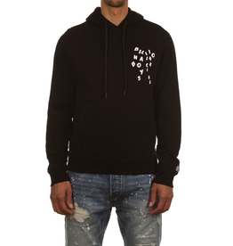 BILLIONAIRE BOYS CLUB BLACK BB JUMBLE HOODIE