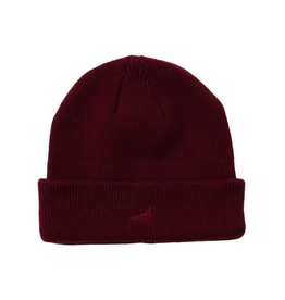 STAPLE BURGUNDY PIGEON BEANIE