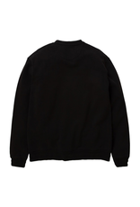 STAPLE BLACK GARMENT WASH PIGEON CREWNECK