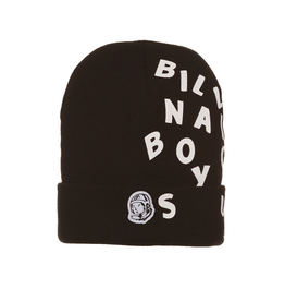 BILLIONAIRE BOYS CLUB BLACK BB BEANIE SKULLY