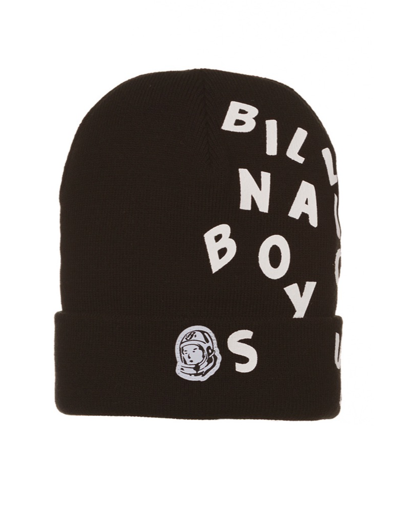 BILLIONAIRE BOYS CLUB BLACK BB BEANIE SKULLY