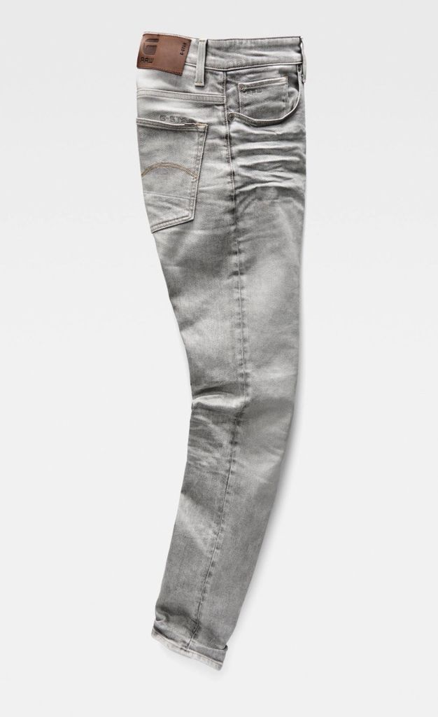 G STAR LT AGED 3301 TAPERED JEANS