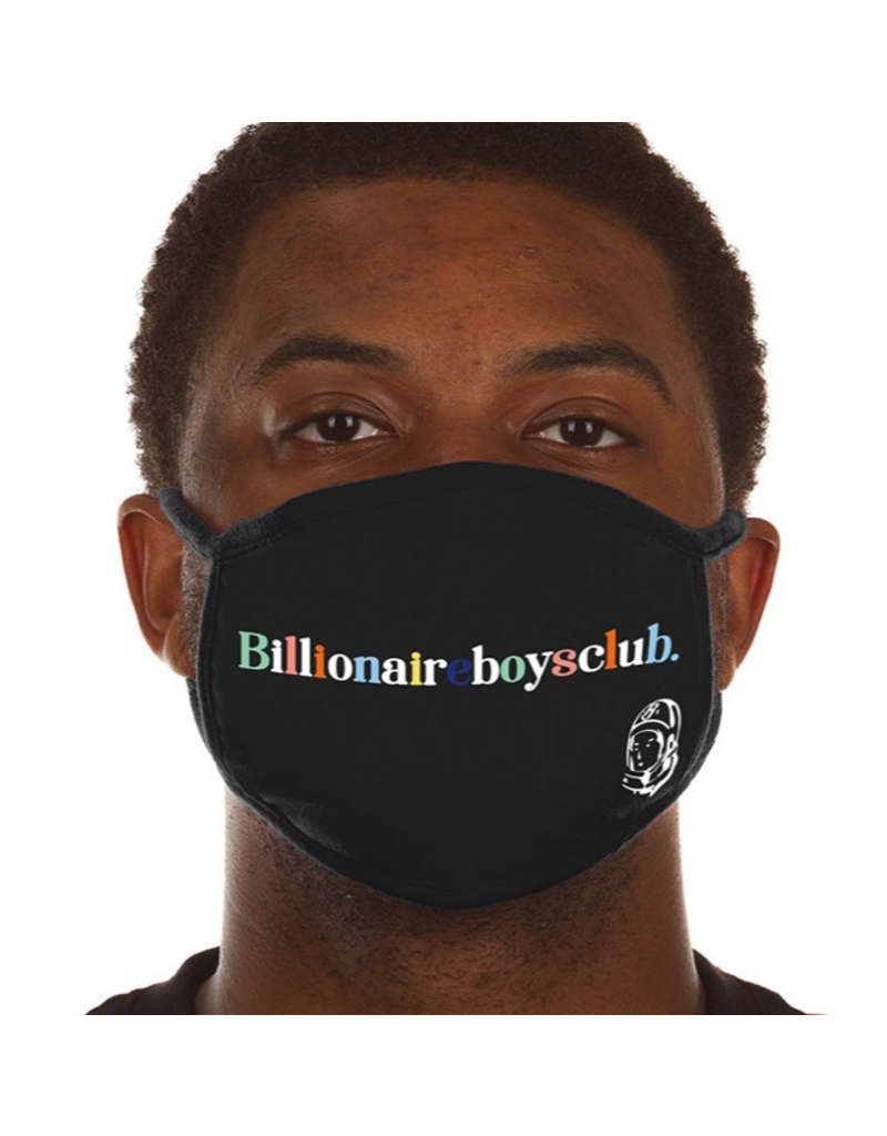 BILLIONAIRE BOYS CLUB BB LETTERS MASK