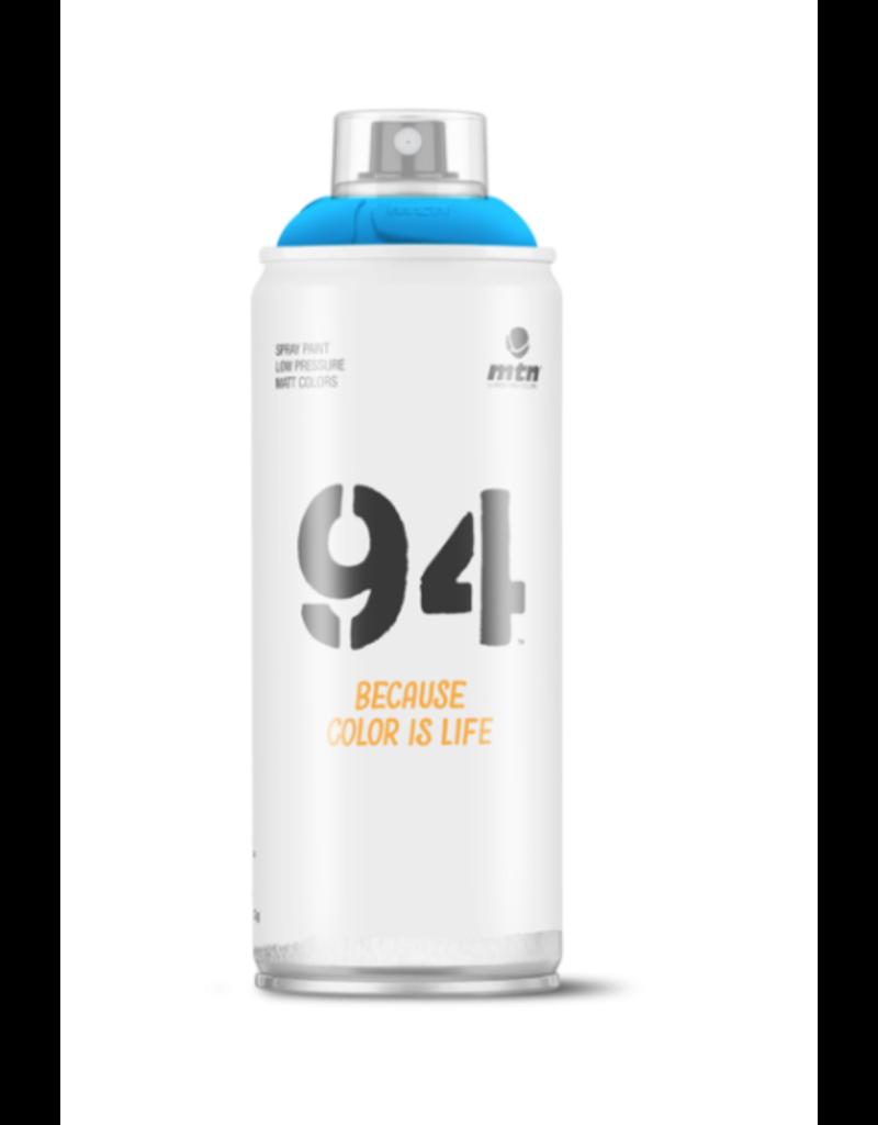 MONTANA MTN 94 Spray Paint - Fluorescent Blue