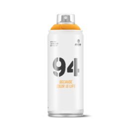 MONTANA MTN 94 Spray Paint - Medium Yellow (9RV-1028)