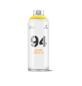 MONTANA MTN 94 Spray Paint - Canarias Yellow (9RV-109)
