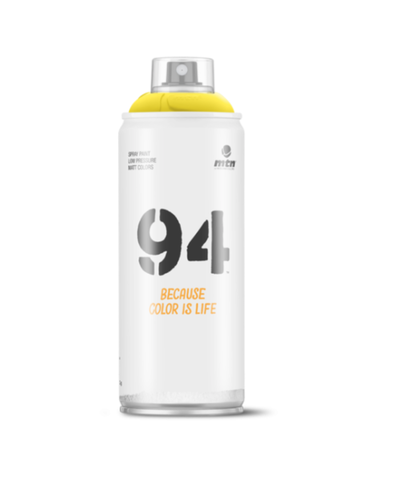 MONTANA MTN 94 Spray Paint - Canarias Yellow (9RV-109)