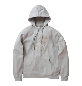 STAPLE GREY GARMENT WASH PIGEON HOODIE