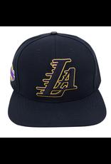 PRO STANDARD LOS ANGELES LAKERS LA LOGO SNAPBACK HAT