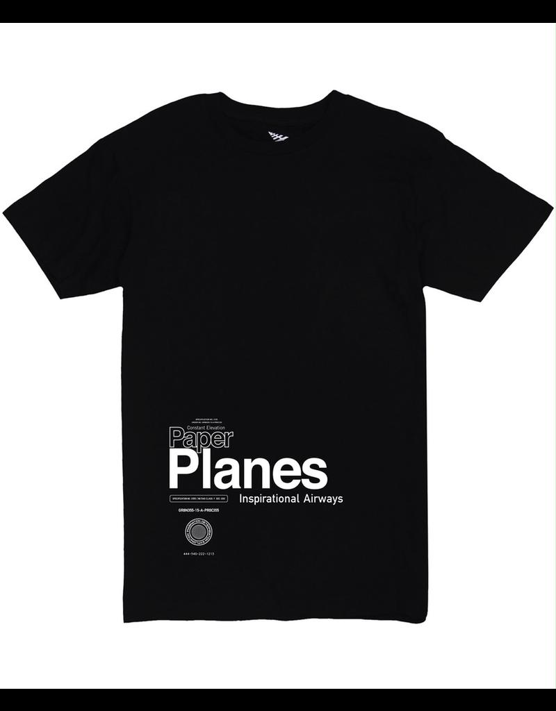 PAPER PLANES RETURN FLIGHT OVERSIZED TEE