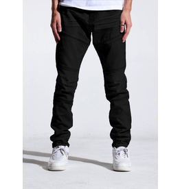CRYSP DENIM KURT (JET BLACK)