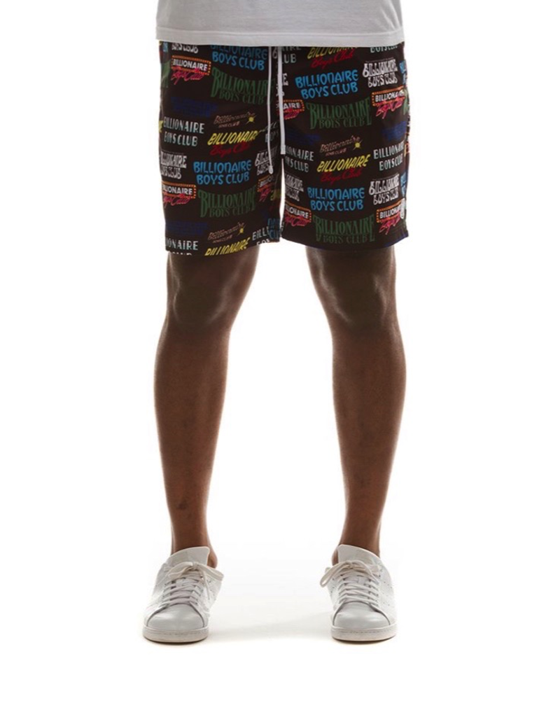 BILLIONAIRE BOYS CLUB BB PROMOTIONAL SHORT