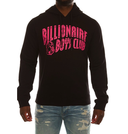 BILLIONAIRE BOYS CLUB BLACK BB ARCH HOODIE