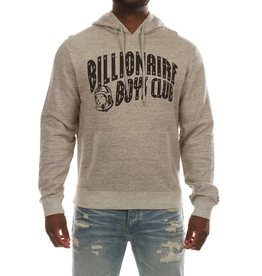 BILLIONAIRE BOYS CLUB HEATHER GREY BB ARCH HOODIE