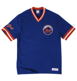 Mitchell & Ness NEW YORK METS OVERTIME WIN VINTAGE TEE