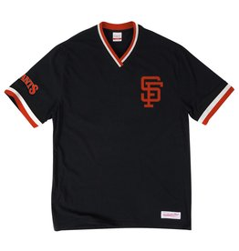 Mitchell & Ness SAN FRANCISCO GIANTS OVERTIME WIN VINTAGE TEE
