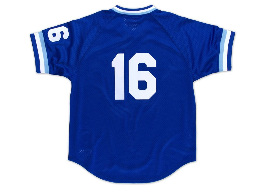 Mitchell & Ness Bo Jackson1989 Authentic Mesh BP JerseyKansas City Royals