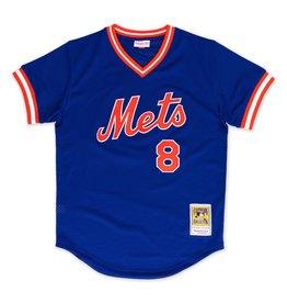 Mitchell & Ness Gary Carter1986 Authentic Mesh BP JerseyNew York Mets