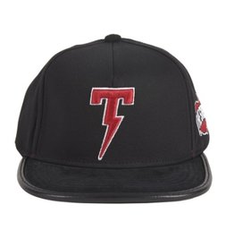 TACKMA THE STATE STRAP BACK BLACK