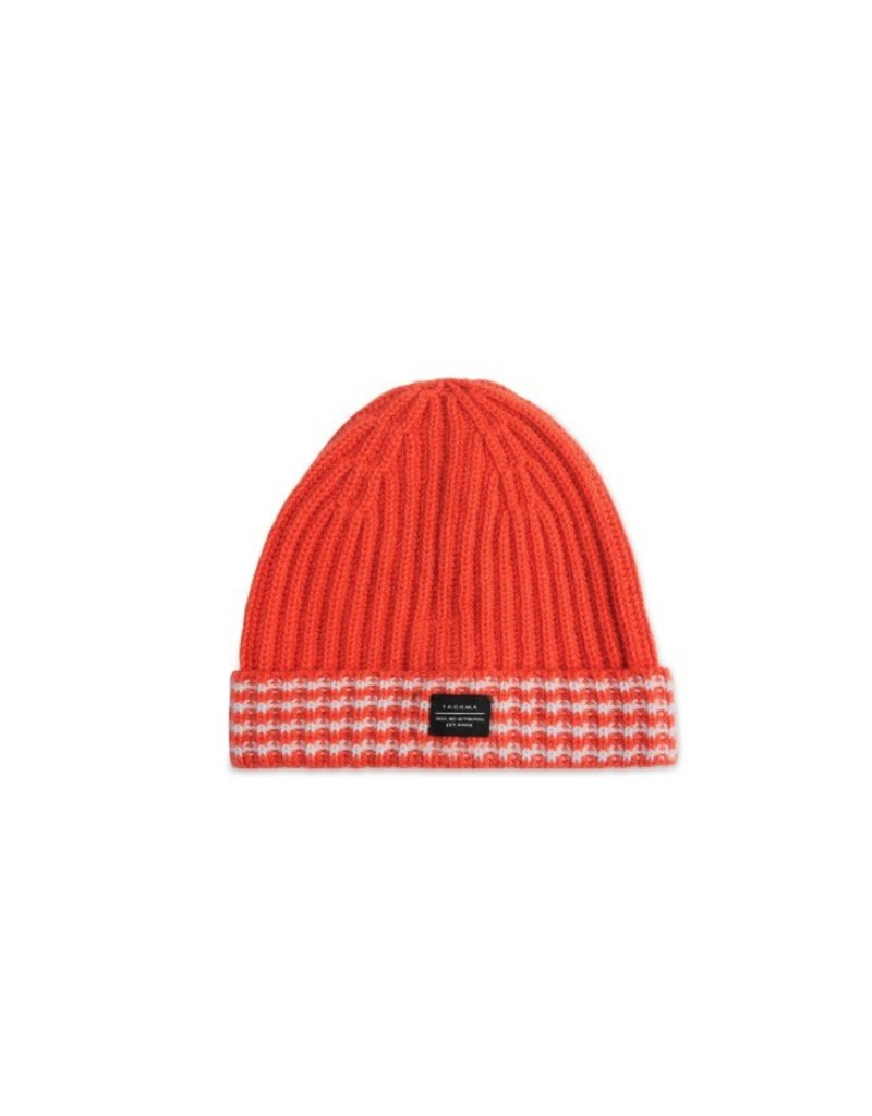 TACKMA ORANGE ZISSOU CAHMERE BEANIE