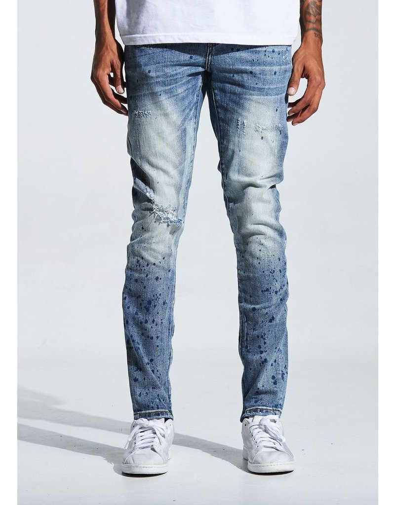 CRYSP DENIM Pacific Denim (Blue)