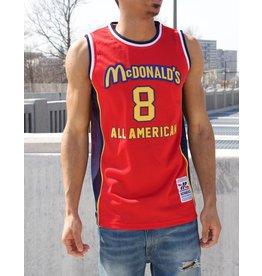 Headgear KOBE BRYANT MCDONALDS ALL AMERICAN BASKETBALL JERSEY
