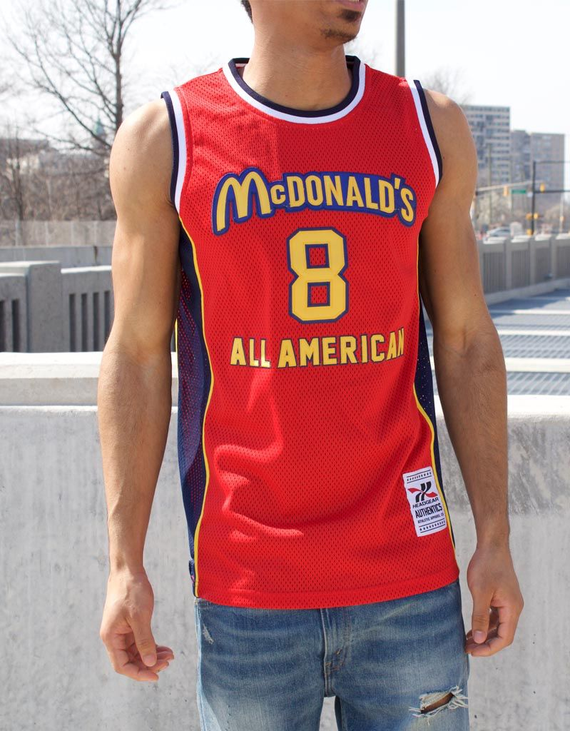 buy popular ae37a 01b5a KOBE BRYANT MCDONALDS ALL AMERICAN BASKETBALL JERSEY
