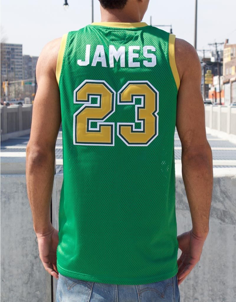 Headgear LEBRON JAMES ST VINCENT/MARY HIGH SCHOOL BASKETBALL JERSEY
