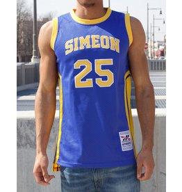 Headgear DERRICK ROSE CHICAGO SIMEON HIGH SCHOOL BASKETBALL JERSEY