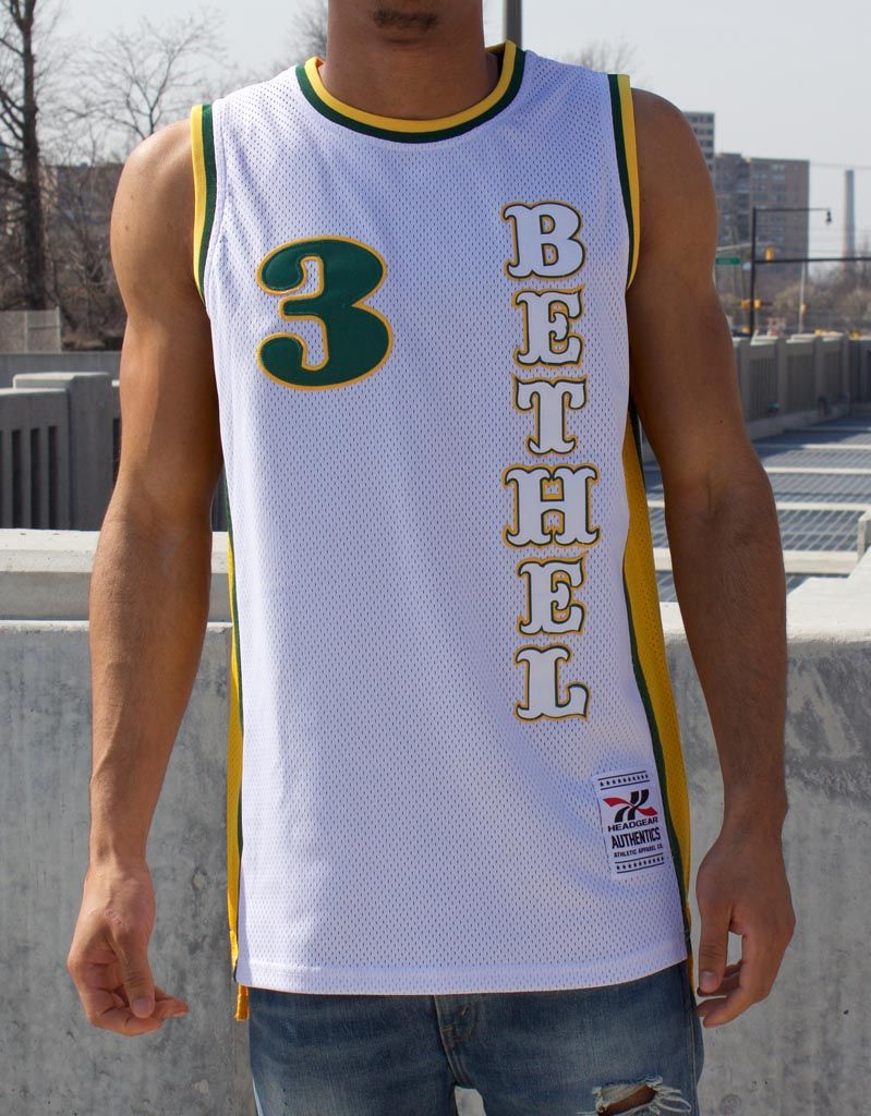 f4e5be02b257 ALLEN IVERSON BETHEL HS BASKETBALL JERSEY - Selfmade ...