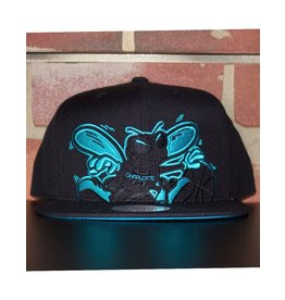 Mitchell & Ness CHARLOTTE HORNETS CROPPED XL SNAPBACK