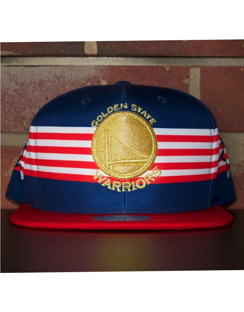 Mitchell & Ness GOLDEN STATE WARRIORS USA SPEED SKATE SNAPBACK