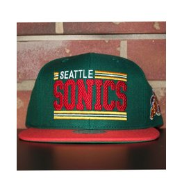 Mitchell & Ness SEATTLE SUPERSONICS BETWEEN THE LINES