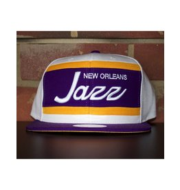 Mitchell & Ness NEW ORLEANS JAZZ COLOR BLOCK SPECIAL SCRIPT