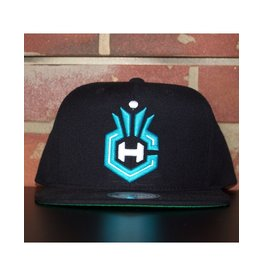Mitchell & Ness CHARLOTTE HORNETS WOOL SOLID 2 SNAPBACK