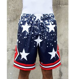 Mitchell & Ness CHICAGO BULLS 4TH OF JULY SWINGMAN SHORTS