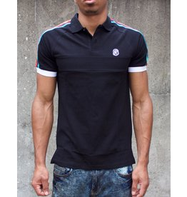 BILLIONAIRE BOYS CLUB BLACK UNIVERSE SS POLO