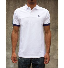 BILLIONAIRE BOYS CLUB WHITE BB UNIVERSE SS POLO