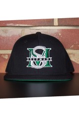 SELFMADE BLACK & JETS GREEN & WHITE SELF MADE BOUTIQUE SNAPBACK
