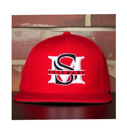 SELFMADE RED & WHITE & BLACK SELF MADE BOUTIQUE SNAPBACK