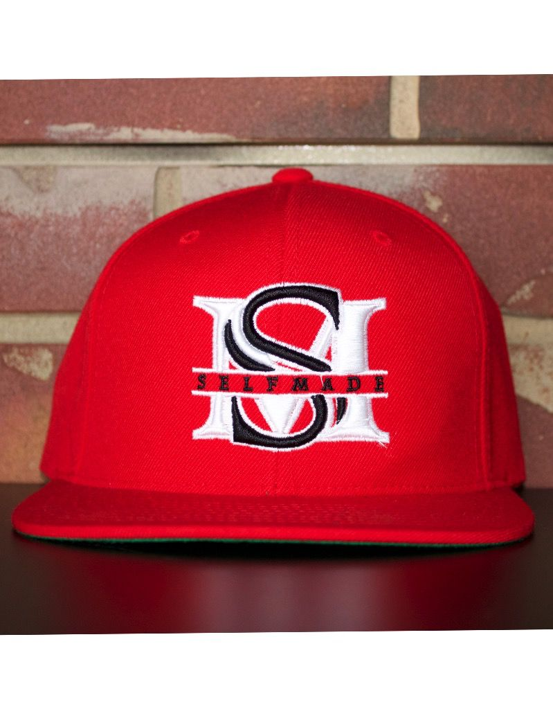 RED   WHITE   BLACK SELF MADE BOUTIQUE SNAPBACK - Selfmade Boutique b46374c892b