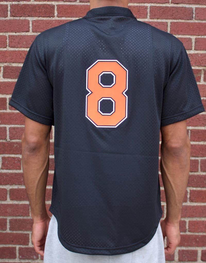 b068e74ef61 ... Mitchell   Ness Cal Ripken Jr.1997 Authentic Mesh BP JerseyBaltimore  Orioles