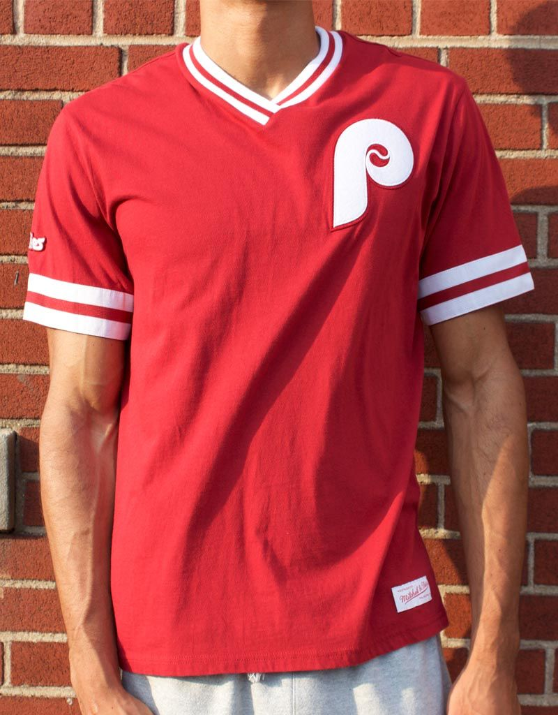 Mitchell & Ness PHILADELPHIA PHILLIES OVERTIME WIN VINTAGE TEE